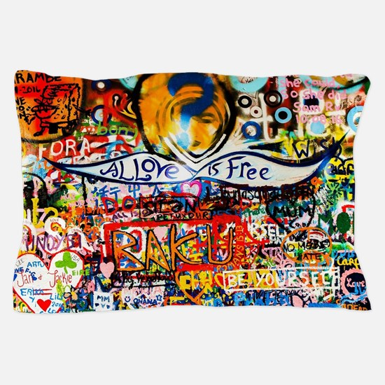 Funny Graffiti art Pillow Case