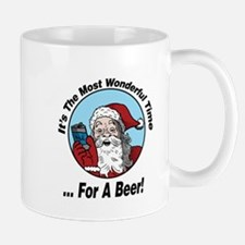 Wonderful Time For A beer Mugs