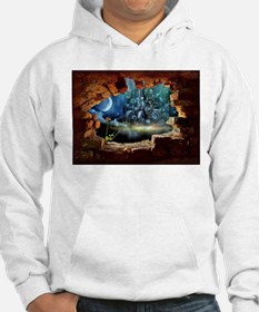 Hole in the Wall Graffiti Hoodie