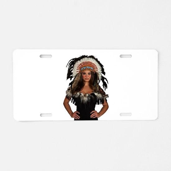 SHE Aluminum License Plate