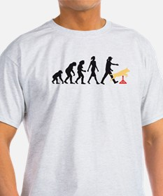 Evolution of woman dog sport agility T-Shirt