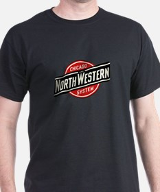 Chicago & Northwestern Angled T-Shirt