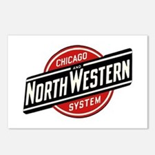 Chicago & Northwester Postcards (Package of 8)