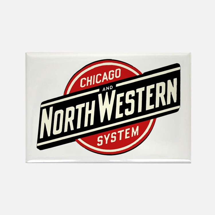 Chicago & Northwestern Angled Magnets