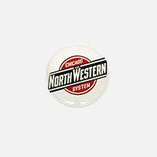 Chicago & Northwestern Angled Mini Button