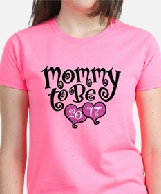 Mommy To Be 2017 T-Shirt
