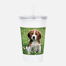 Beagle Acrylic Double-wall Tumbler