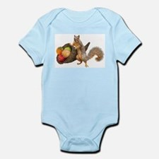 Squirrel with Cornucopia Body Suit
