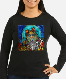 Colby the Collie Long Sleeve T-Shirt