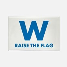 W Raise the Flag Magnets