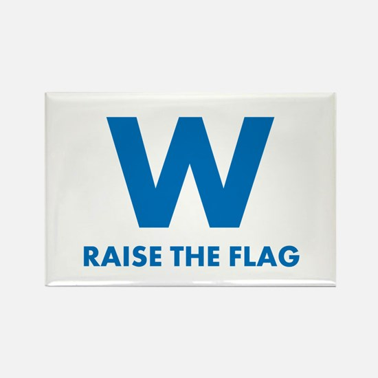W Raise the Flag Magnets