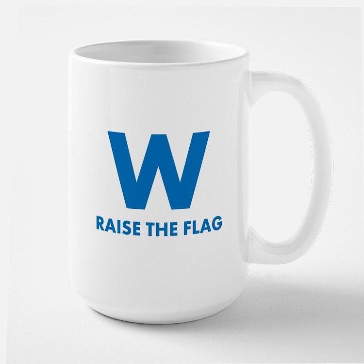 W Raise the Flag Mugs