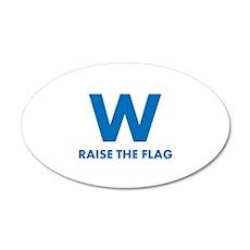 W Raise the Flag Wall Decal
