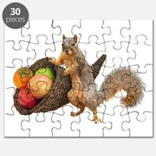 Squirrel with Cornucopia Puzzle