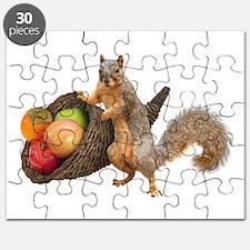 Squirrel with Cornucopia Puzzle