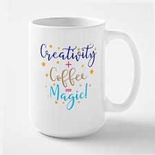 creativity+coffee=magic Mugs
