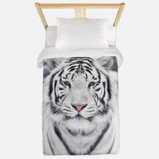 White Tiger Twin Duvet