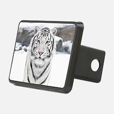 White Tiger Hitch Cover