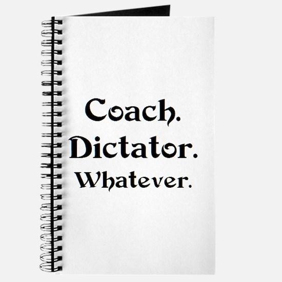 coach dictator Journal
