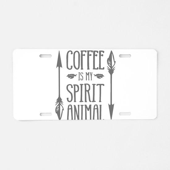 spirit animal [2] Aluminum License Plate