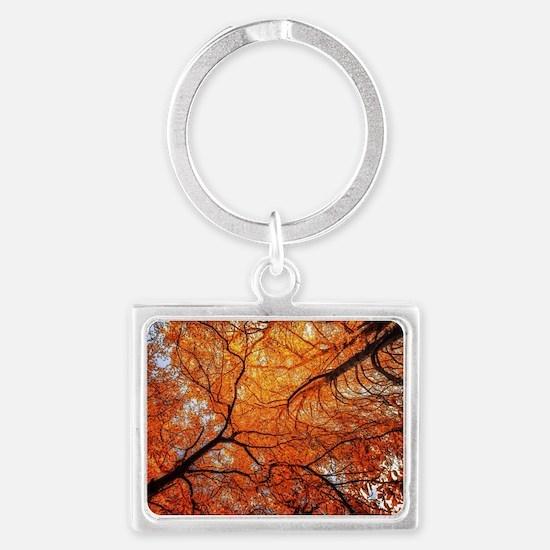 Cute Sienna Landscape Keychain