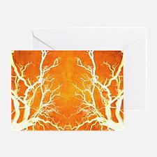 Cute Orange colored Greeting Card