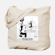 Technical Support Cartoon 6883 Tote Bag
