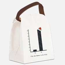 Funny Graph Canvas Lunch Bag