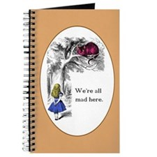 Cute Alice in wonderland rabbit Journal
