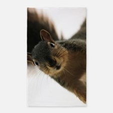 Cute Squirrels Area Rug