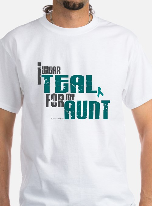 I Wear Teal For My Aunt 6 Shirt