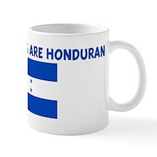 THE CUTEST GIRLS ARE HONDURAN Mug