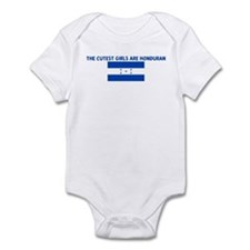 THE CUTEST GIRLS ARE HONDURAN Infant Bodysuit