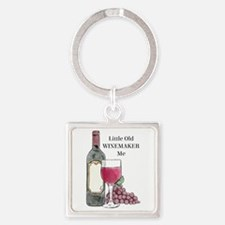 Winemaker Square Keychain