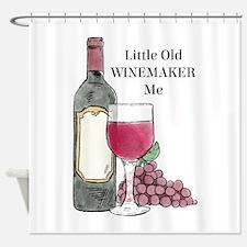 Winemaker Shower Curtain