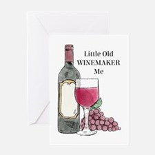 Winemaker Greeting Cards