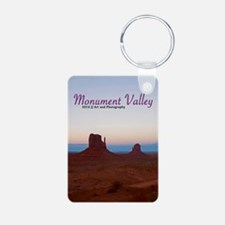 Monument Valley Sunset Keychainss