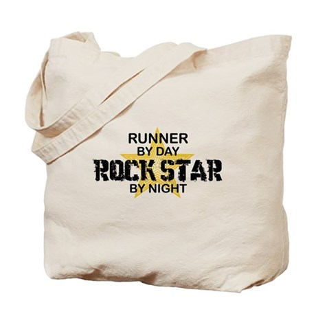 Runner Rock Star Tote Bag
