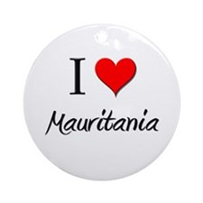 I Love Marshall Islands Ornament (Round)