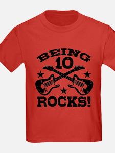 Being 10 Rocks T-Shirt
