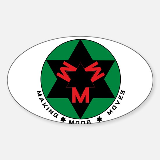 Making Moor Moves BRG Decal