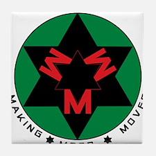 Making Moor Moves BRG Tile Coaster