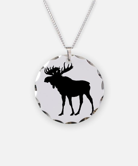 Moose: Black Necklace