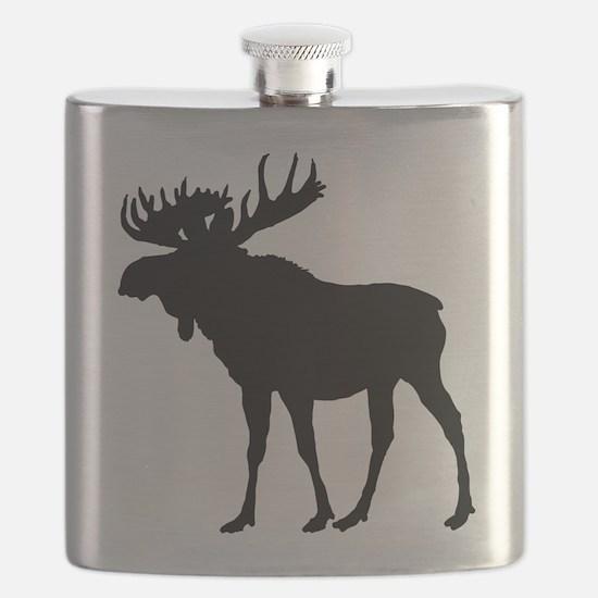 Moose: Black Flask