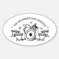 Drummer Decal