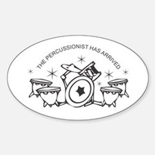 Percussionist Decal