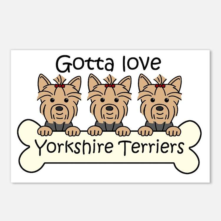Cute I love my glen imaal terrier Postcards (Package of 8)