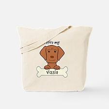 Unique Vizsla dog breed Tote Bag