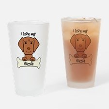 Cute Visla Drinking Glass