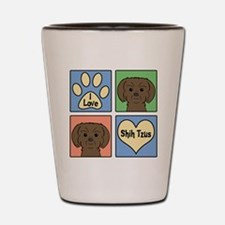Cute Shihtzu Shot Glass
